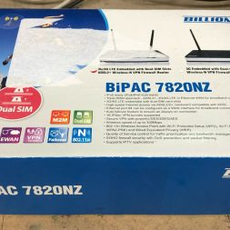 Billion BiPAC 7820NZ ADSL2+ Wireless-N VPN Firewall Router AnnexA+M 3G/4G LTE