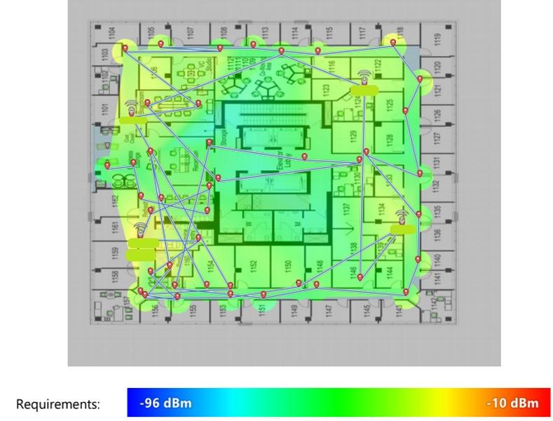 wifi heatmap