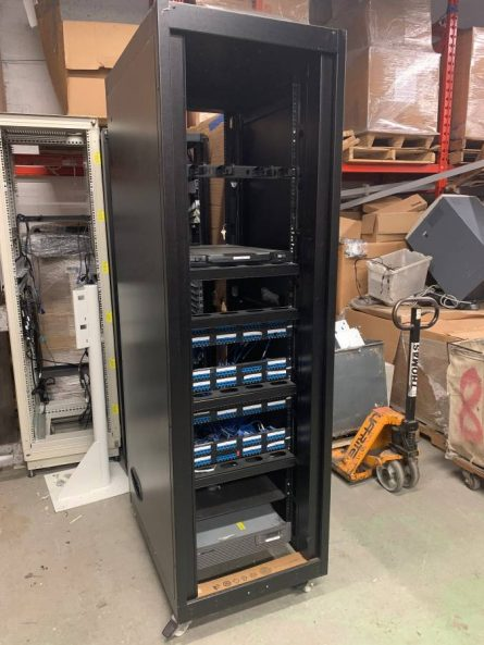 Full height Server Rack and Network Cabinet