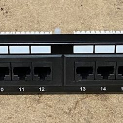 24-Port Cat5e Patch Panel